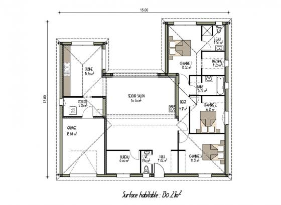 plan-maison-carree-3-chambres
