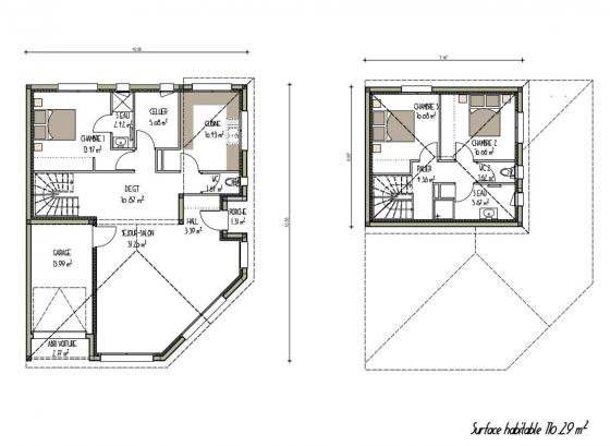 plan-maison-contemporaine-a-etage